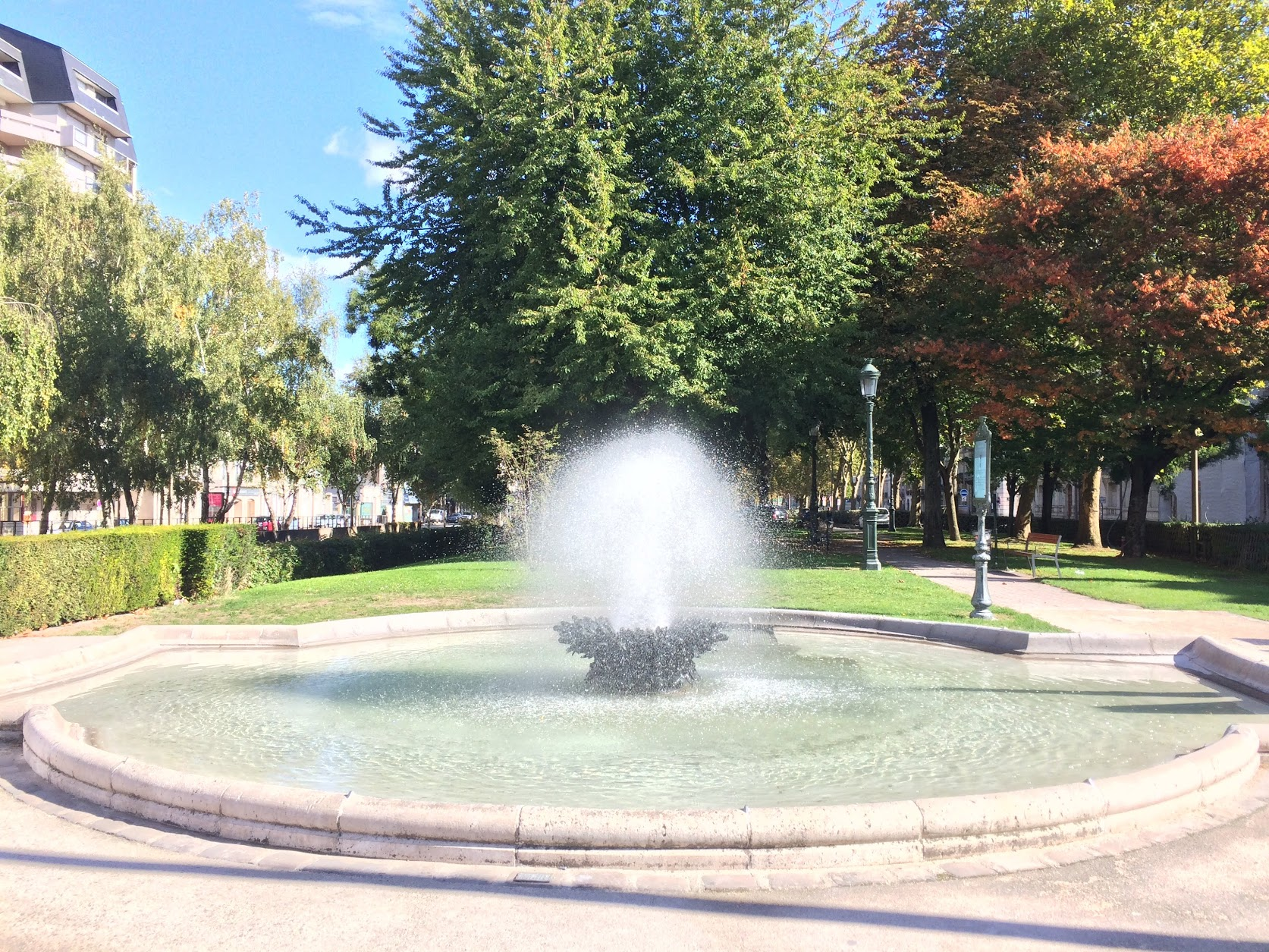 Fontaine Boulevard Alexandre Martin
