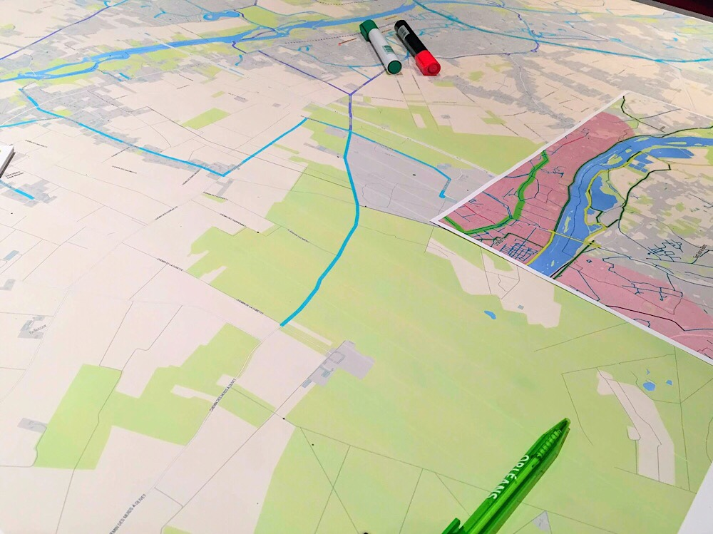Atelier participatif au plan vélo d'Orléans : j'y étais