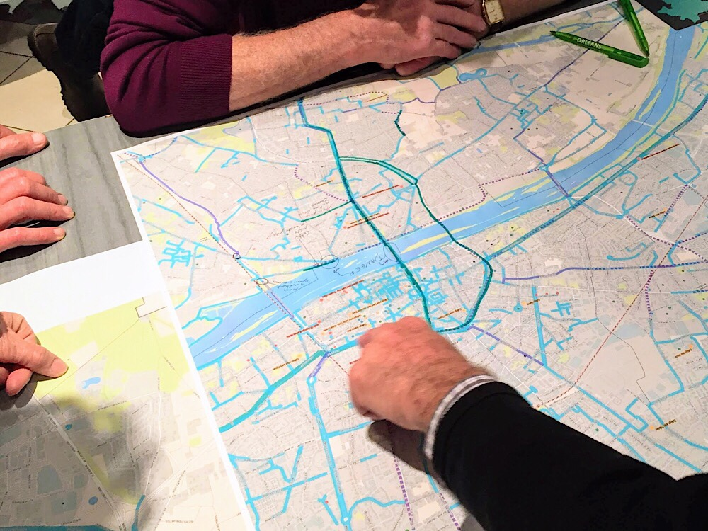 Analyse du plan des pistes cyclables