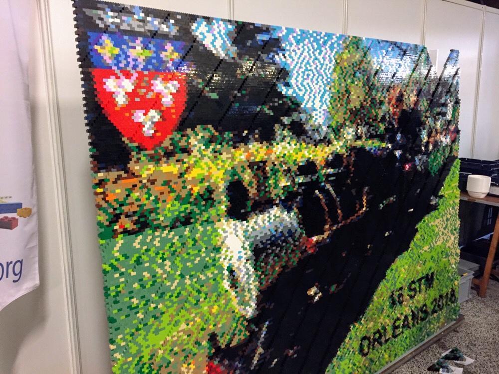 Mur de Lego