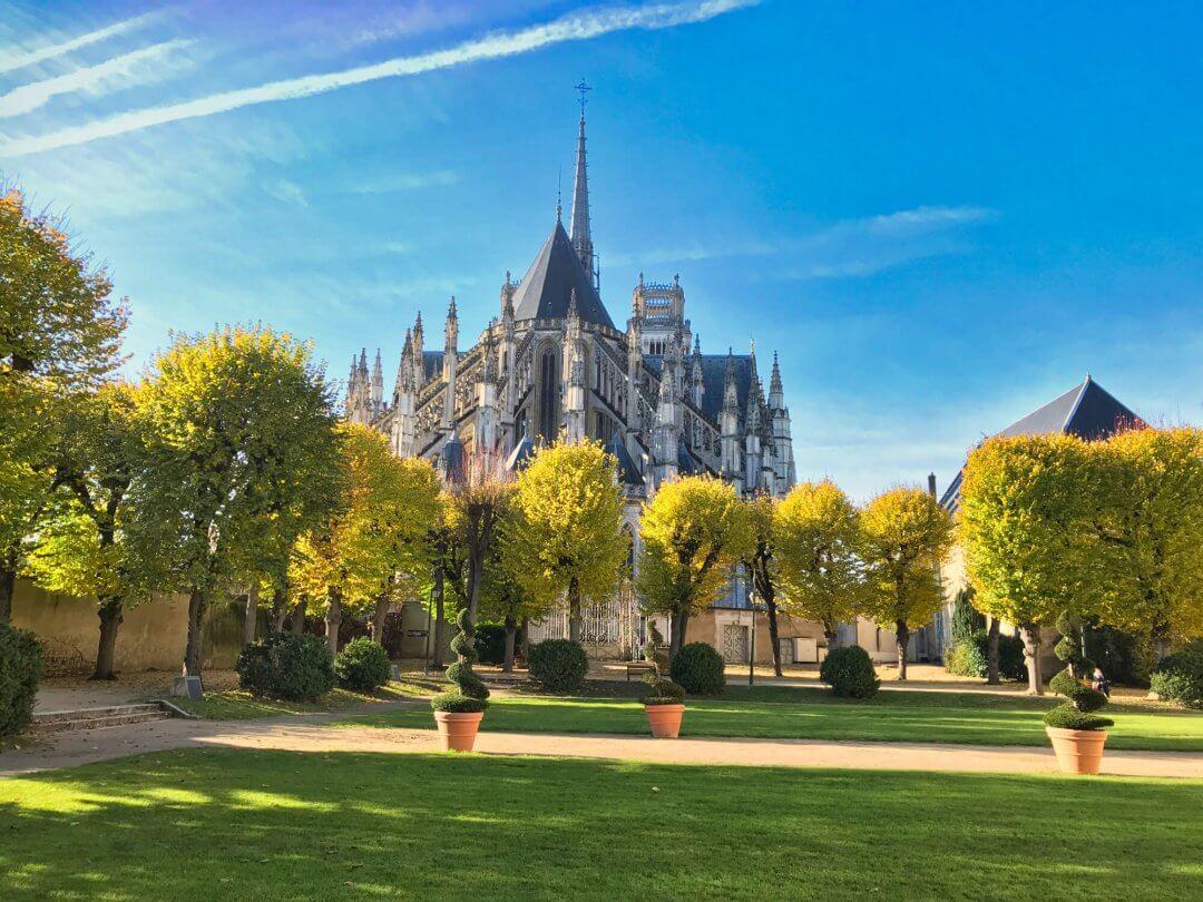 Jardin de l'évêché à Orléans