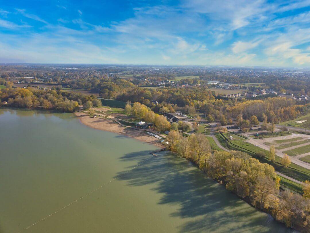île Charlemagne vue de drone