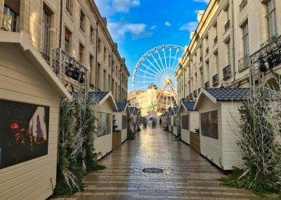 Marché de Noël et rue Royale