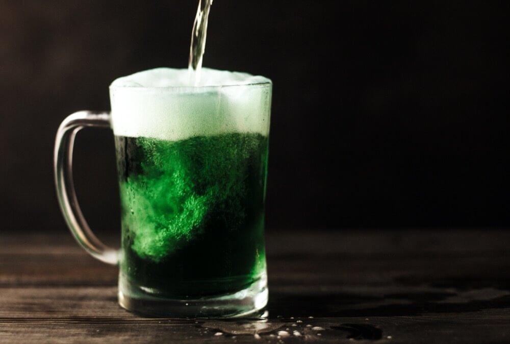 une bière à la Saint-Patrick