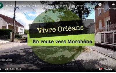 Promenade vélo pour la famille : Orléans -Parc de Morchêne [10km]