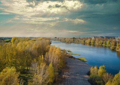 Rive de Loire en automne